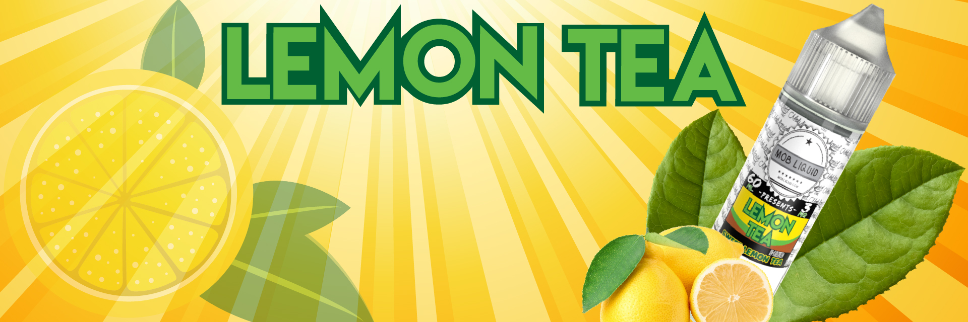 Flavor Vapors | Wholesale E-Liquids | Lemon-Tea