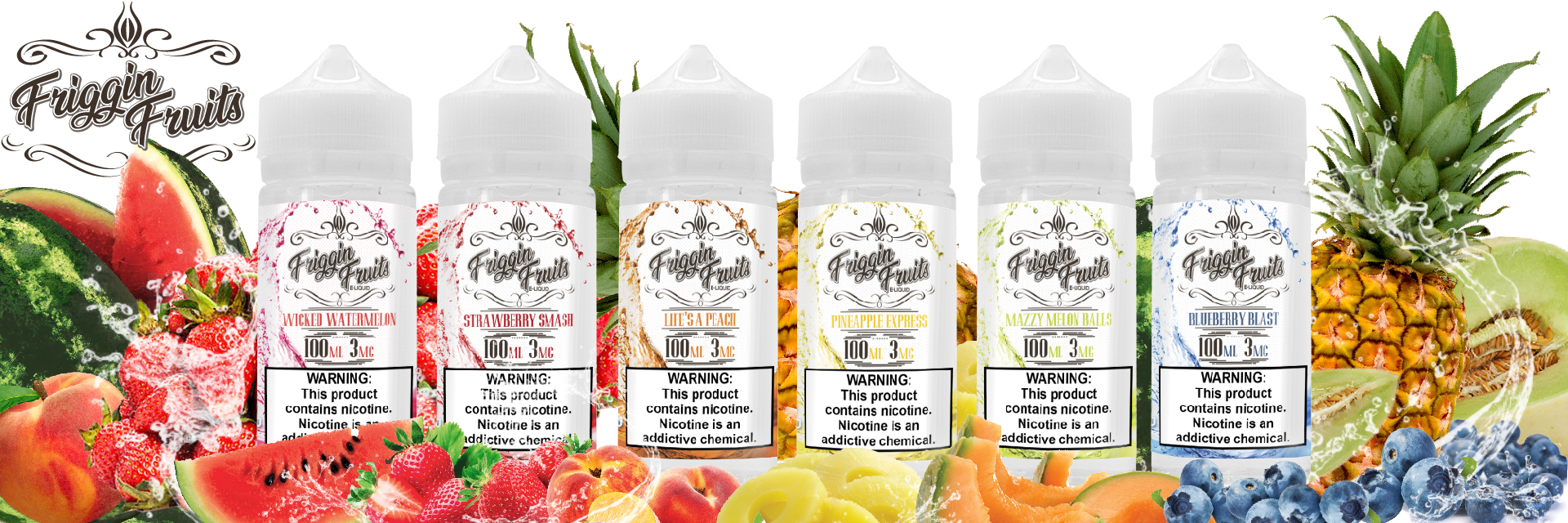 Flavor Vapors | Wholesale E-Liquids | Friggin-Fruits