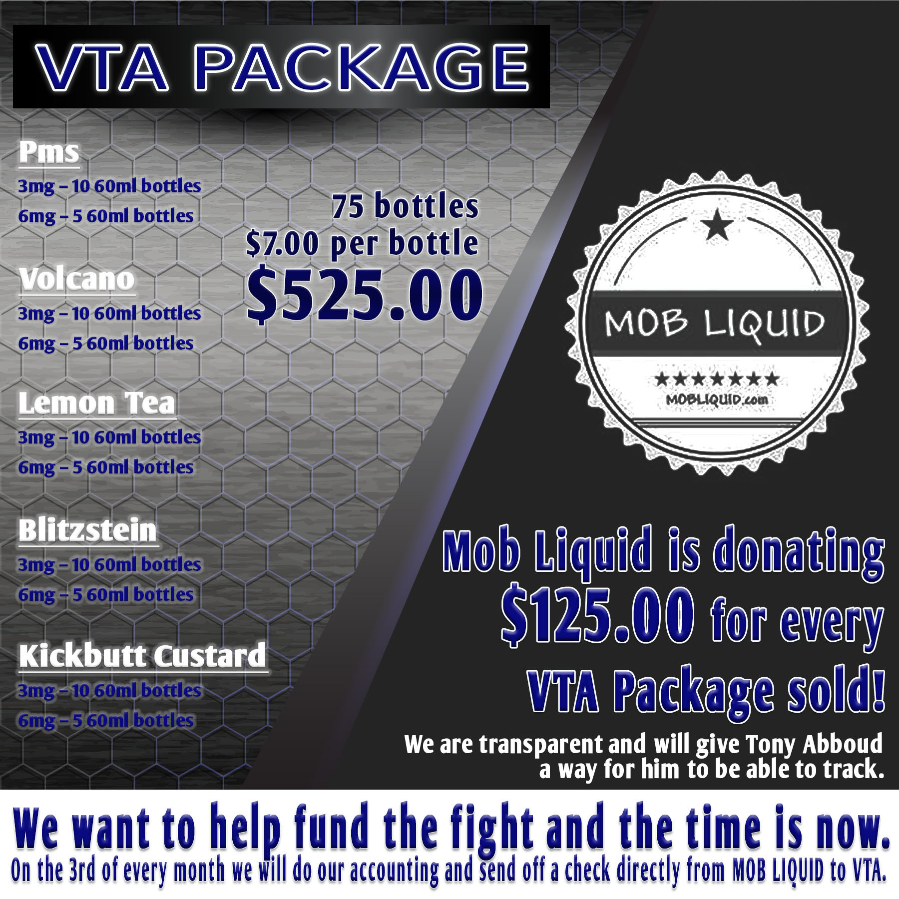 Mob Liquid | Packages | VTA Support Packages