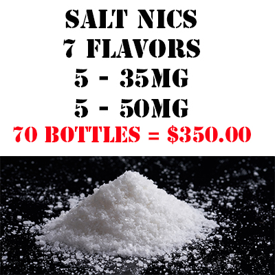 Mob Liquid | Packages | Salt Nics